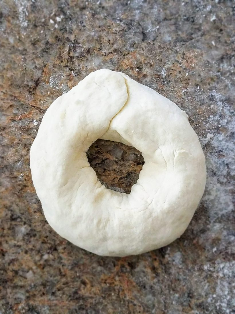 Everything Bagel Dough