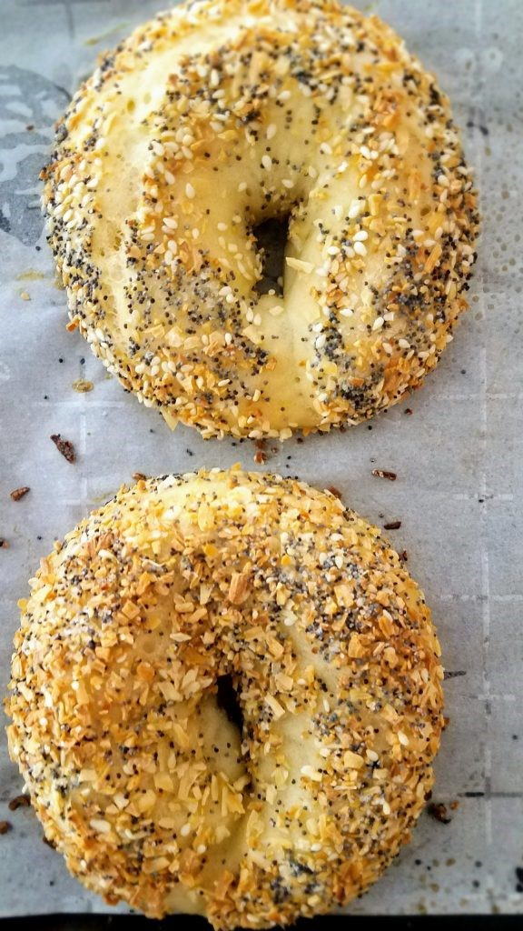 Easy Homemade Everything Bagels