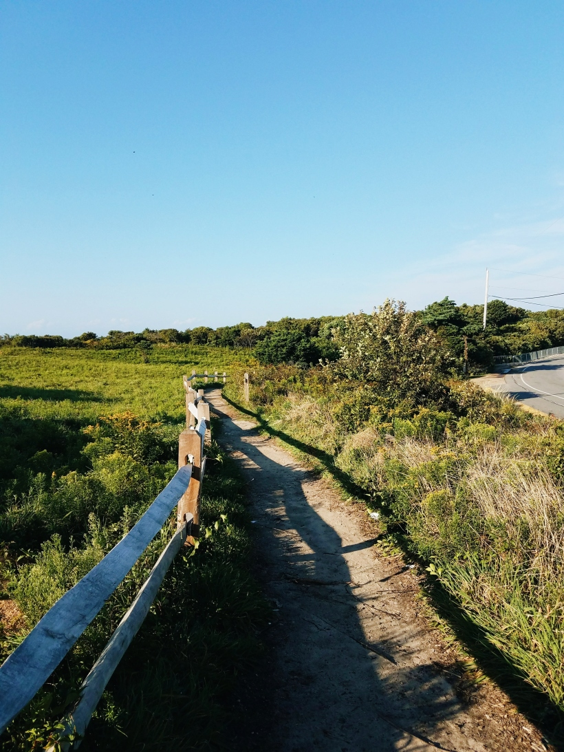 Walkway to Aquinnah Light House