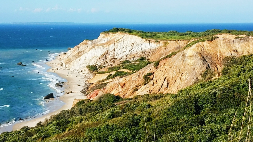 View of Aquinnah Cliffs