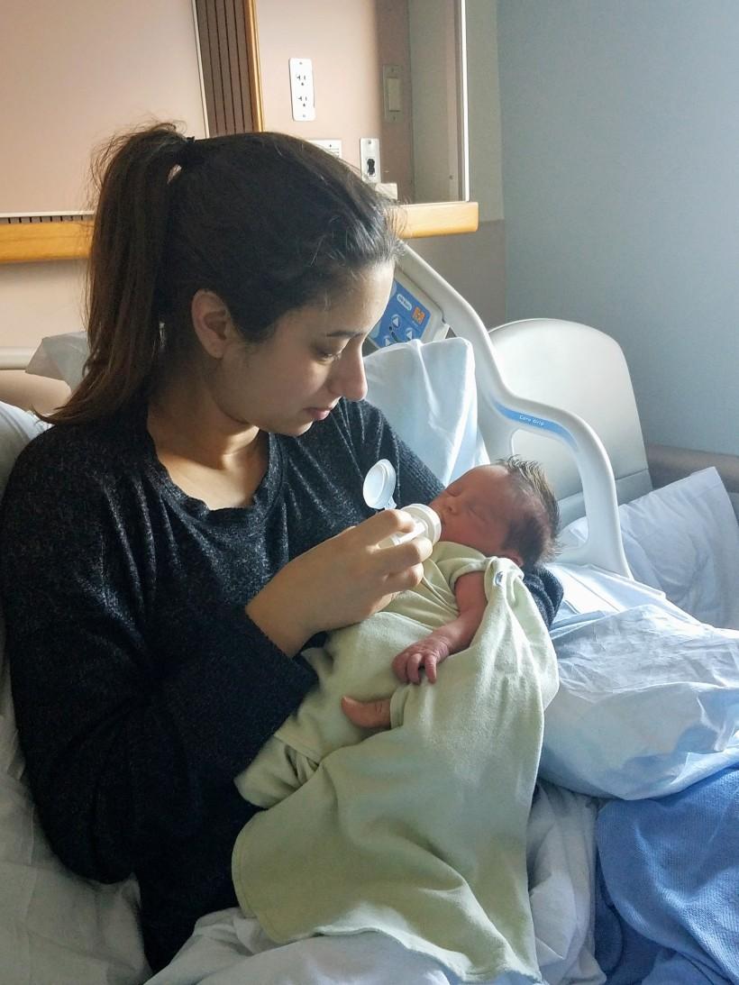 Ashley with Levi